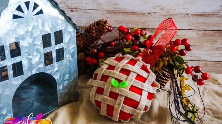 Cherry Pie Ornament