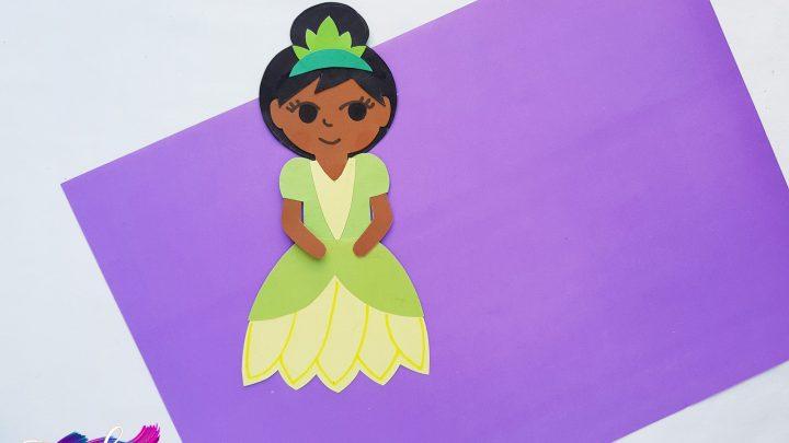 disney princess paper doll
