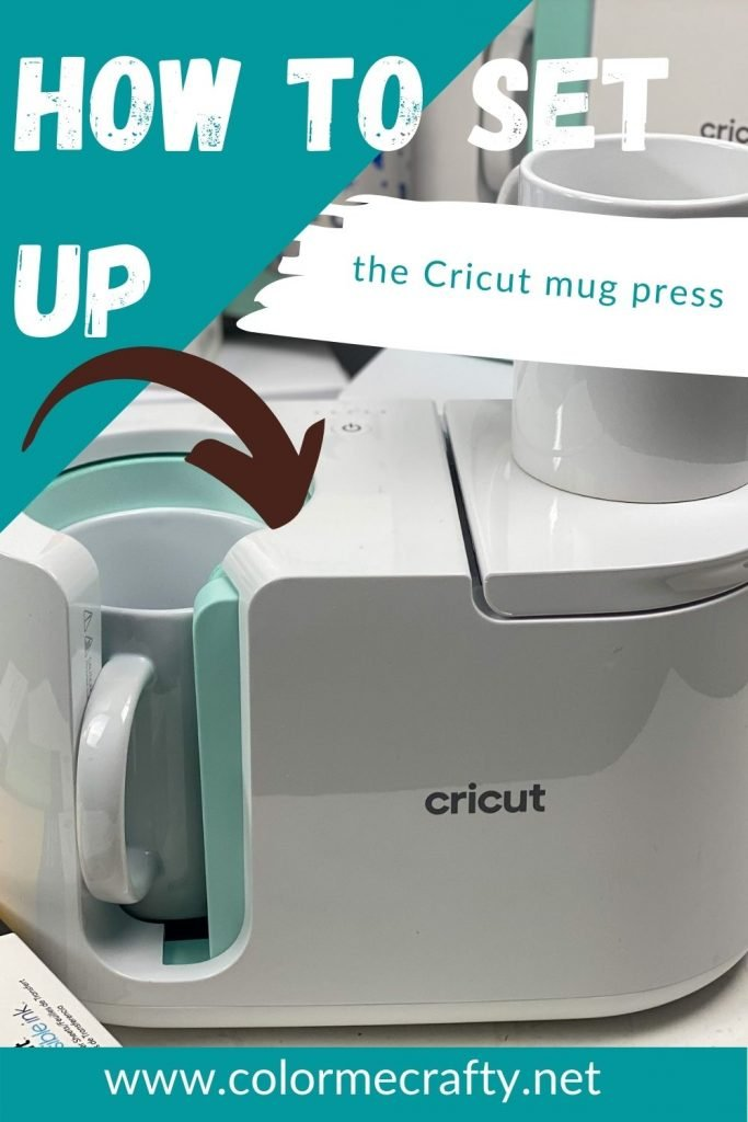 Here's an easy-to-follow tutorial on how to set up your Cricut Mug Press. This Mug Press is a great way to make pro-quality coffee mugs. #handmadewithjoann #cricutmugpress #cricutmade