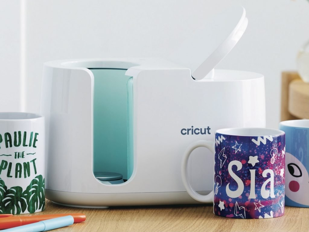 Cricut mug press with Infusible ink dyed cricut mug blanks