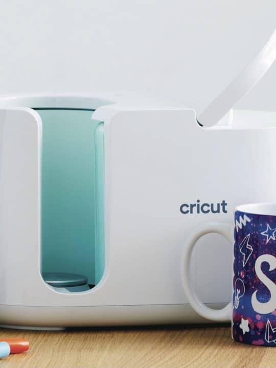 Cricut mug press with Infusible ink dyed cricut mug blanks