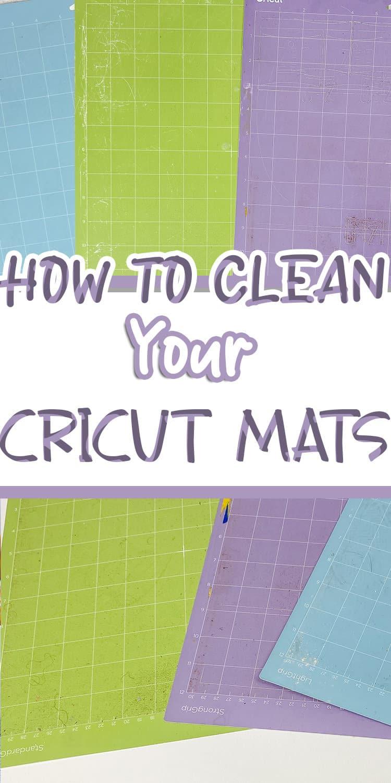 how-to-clean-cricut-mat