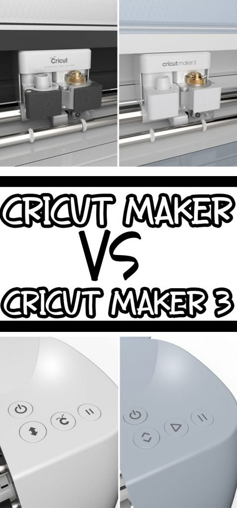 pin image of cricut maker and cricut maker 3 side by side