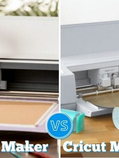 side by side photos of the cricut maker and cricut maker 3