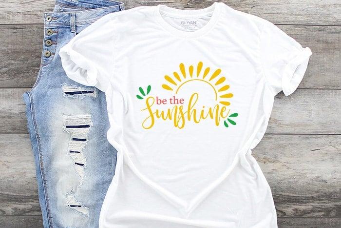 be the sunshine summer svg