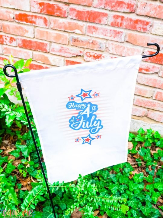 4th of July Yard Flag