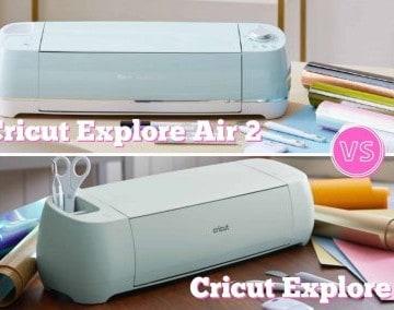 cricut explore air 2 and cricut explore air 3 comparison