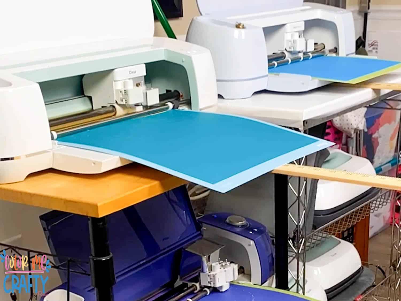 multipal cricut machines cutting