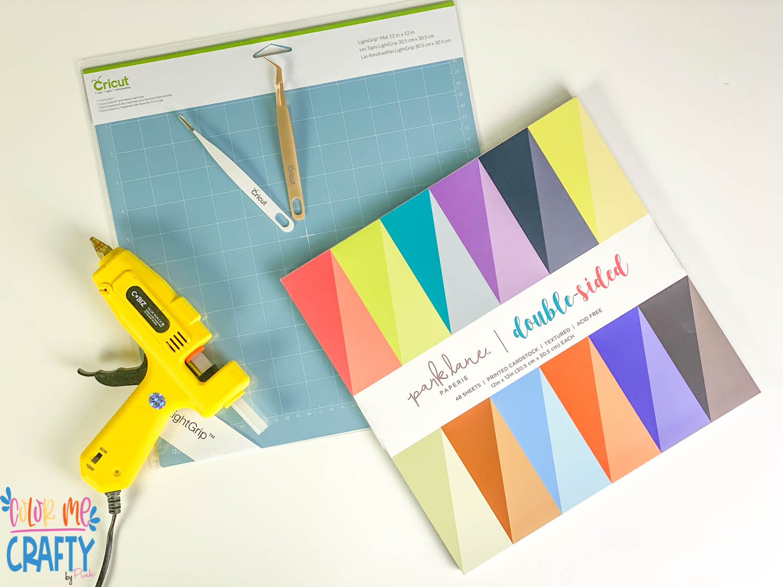 supplies to make cricut paper flowes
