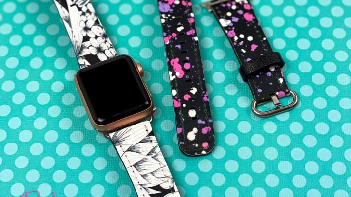 cricut apple watch band with infusible ink