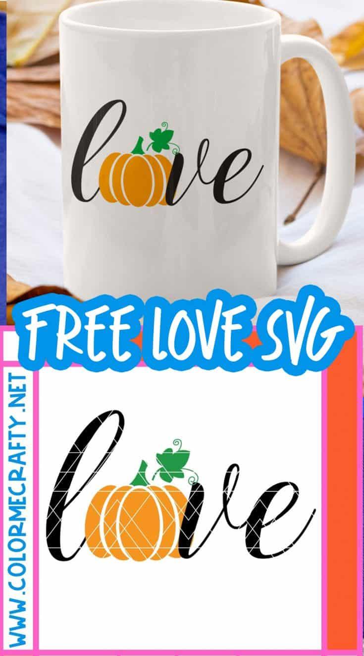 fall love free svg pin image