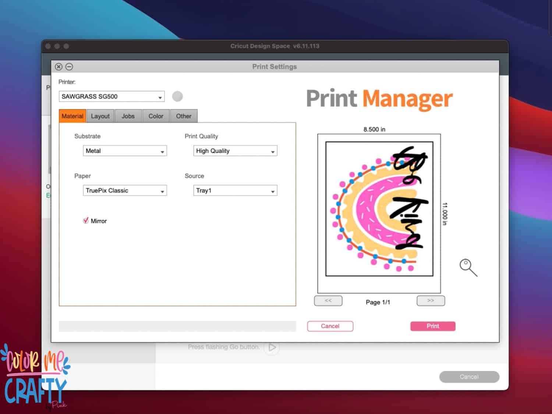 sawgrass print manager
